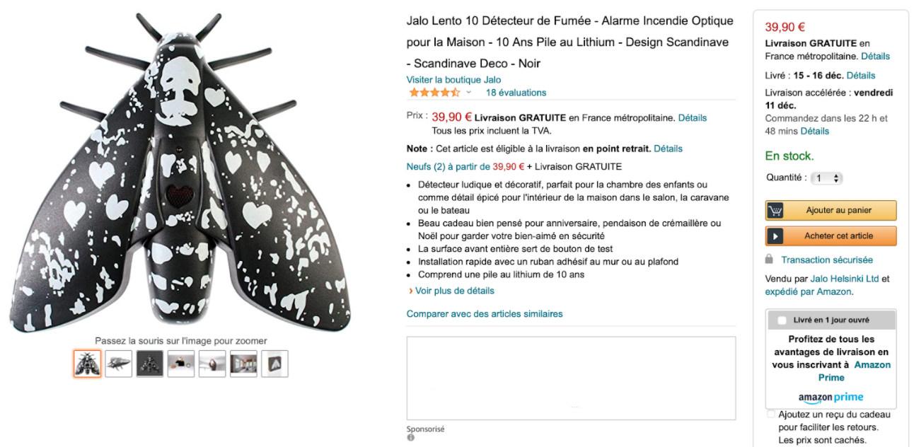 Jalo Lento on the Amazon.fr marketplace