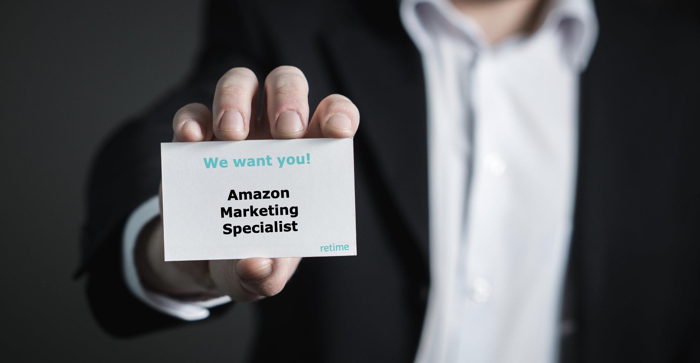 amazon marketing specialist